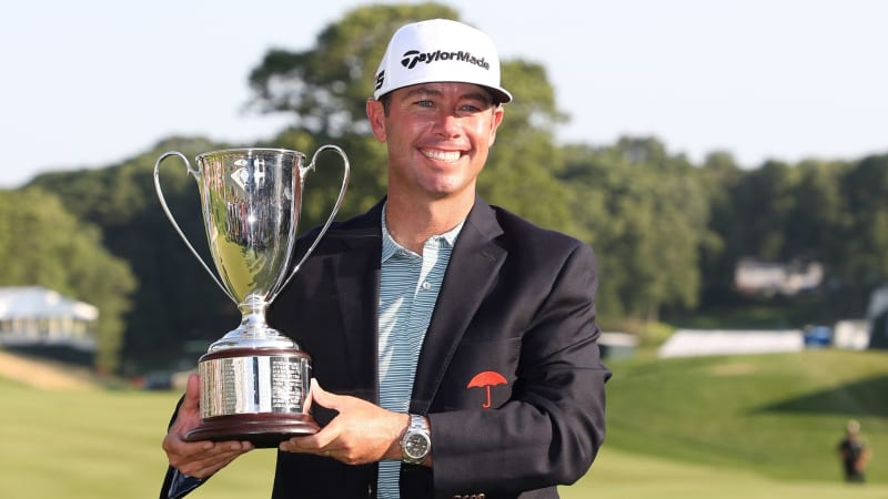 Chez Reavie gewinnt die Travelers Championship 2019 der PGA Tour. (Foto: Getty)