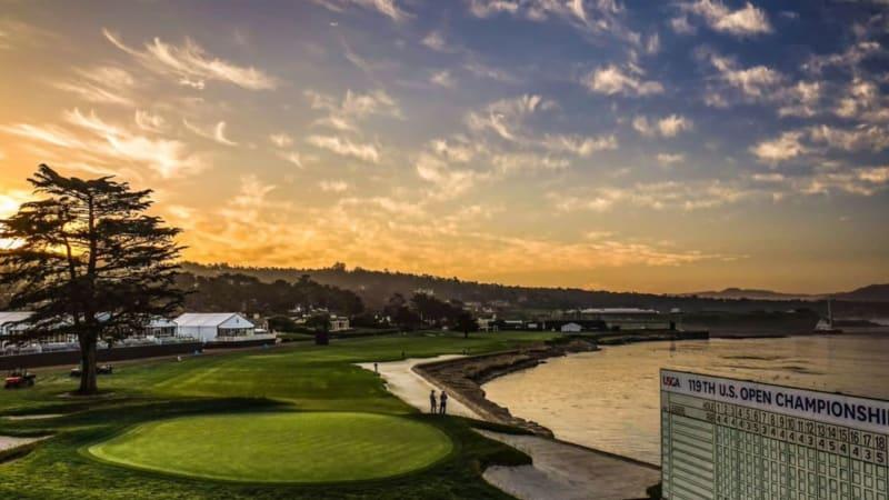 US Open Golf 2019 Bilder Runde 1 (Foto: Twitter / PGA Tour)