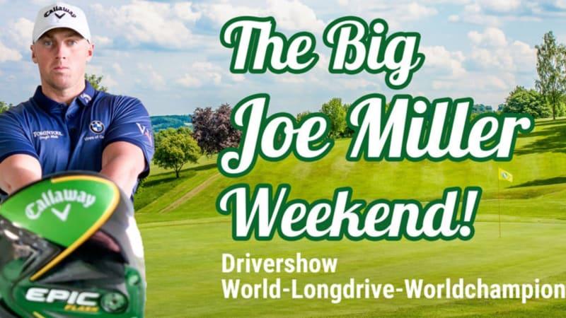 Joe Miller, der Longdrive Champion, kommt zum GC Siebengebirge und wird dort das Publikum begeistern. (Foto: GC Siebengebirge)