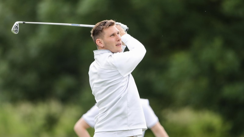 Niklas Süle auf der Pro-Am-Runde der BMW Inertational Open 2019. (Foto: Getty)