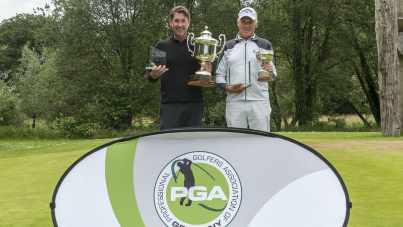 Die Titelverteidiger Paul Archbold und Norbert Sieffert im Portrait. (Bildquelle: PGA of Germany)