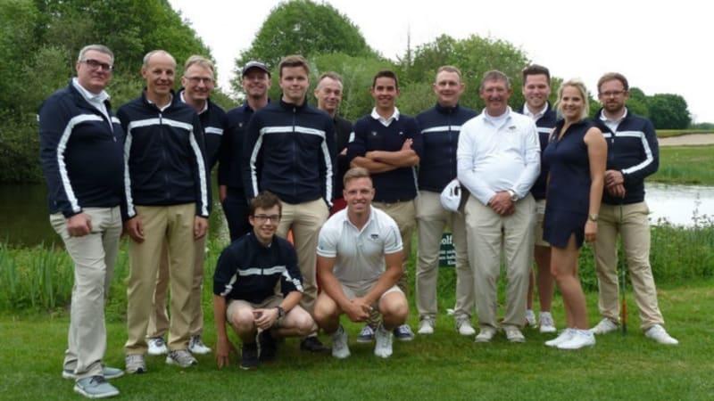 Weiterhin erfolgreiche Herren in der Deutschen Golf Liga. (Bild: GLC Coesfeld)