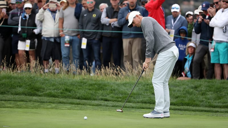 Rory McIlroy in Runde zwei der US Open 2019. (Bildquelle: Getty)