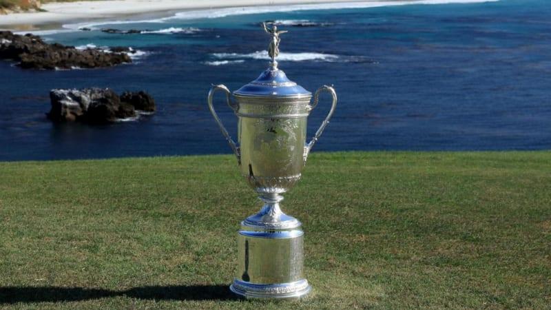 US Open 2019 Golf Trophäe (Foto: Twitter)