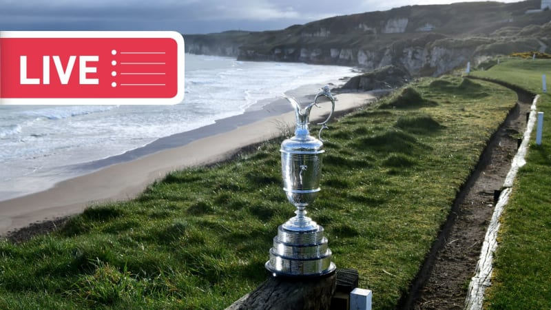 Der Liveticker zur British Open 2019 in Royal Portrush. (Foto: Getty)