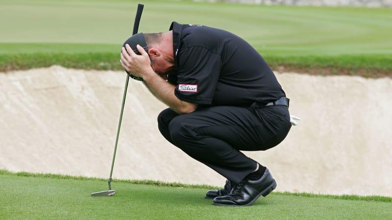 Verzweiflung und Golf - nicht nur das Spiel selbst, auch Golfbücher können einen zur Verzweiflung bringen.
