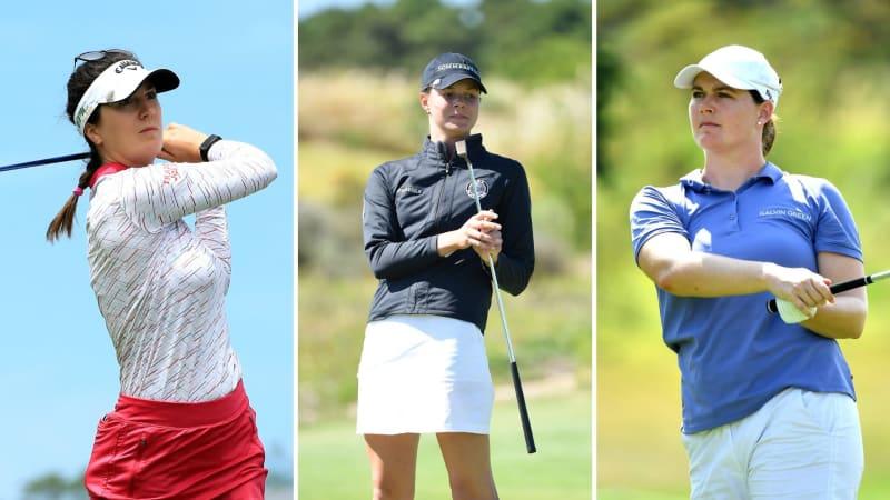 Sandra Gal, Esther Henseleit und Caroline Masson starten über Par in die Evian Championship. (Foto: Getty)