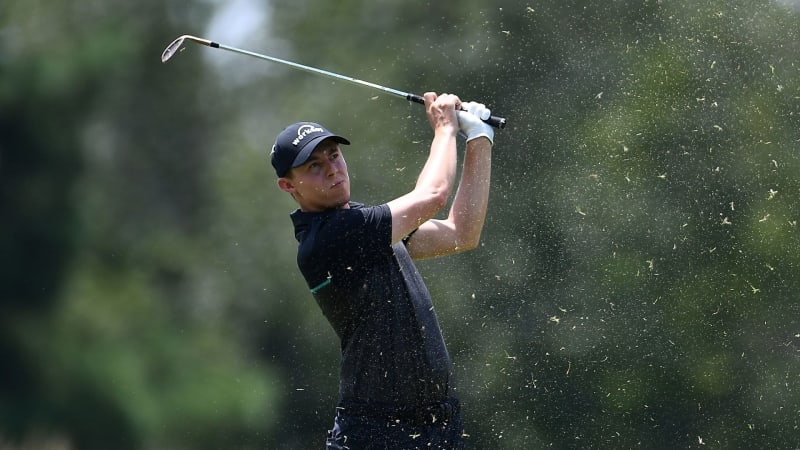 Matthew Fitzpatrick führt beim World Golf Championship - FedEx St. Jude Invitational. (Foto: Getty)