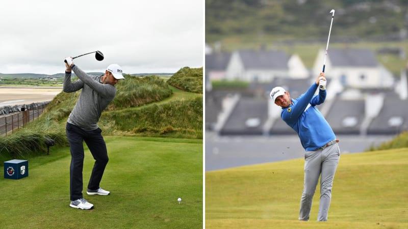 Martin Kaymer und Bernd Wiesberger auf der vierten Runde der Irish Open auf der European Tour. (Foto: Getty)
