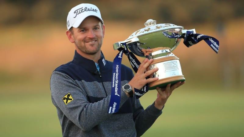 Bernd Wiesberger ist der diesjährige Sieger der Scottish Open. (Foto: Getty)