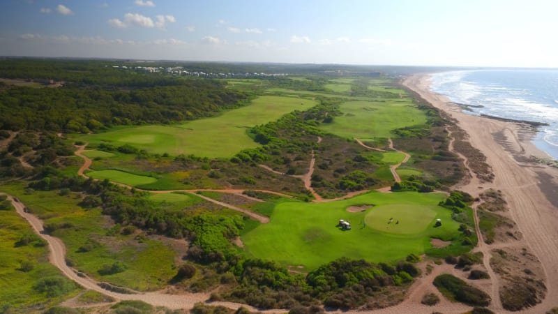 Der Golfplatz des Mazagan Beach & Golf Resort direkt an der Atlantikküste. (Foto: Mazagan Beach & Golf Resort)