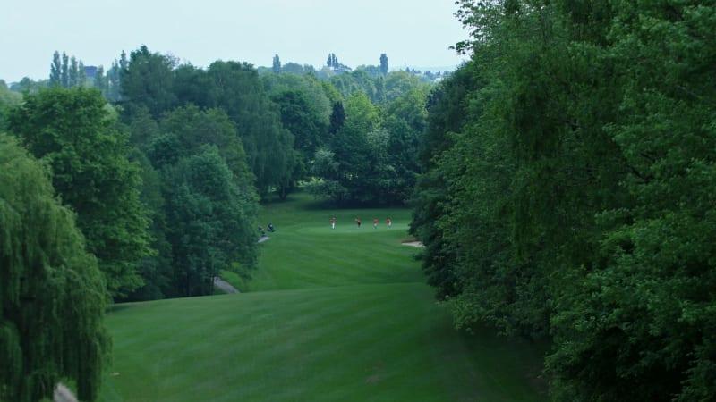 Die besten Damen und Herren der Altersklasse (AK) 50 treffen sich zu den Internationalen Amateurmeisterschaften (IAM) im Golf Club Hubbelrath. (Foto: DGV)
