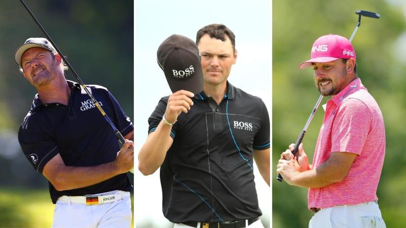 Das deutsche Trio auf der PGA Tour: Alex Cejka, Martin Kaymer und Stephan Jäger (Foto: Getty)