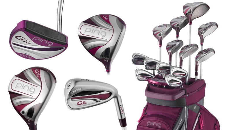 Vom Driver zum Putter. Die neue Ping G Le2 Serie bietet alles, was das Damen-Golferherz begehrt. (Fotos: Ping)