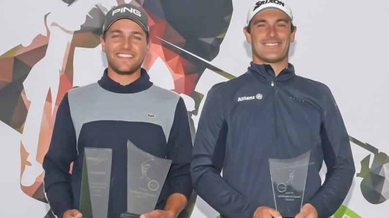 Hubert Tisserand und Florian Fritsch überzeugen auf der Pro Golf Tour. (Foto: GolfsupportNL)