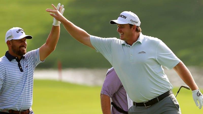 Sepp Straka bei der Northern Trust 2019, dem ersten FedExCup-Playoff der PGA Tour. (Foto: Getty)