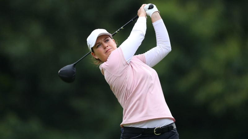 Caroline Masson in den Top 15 bei der Women's British Open 2019. (Foto: Getty)