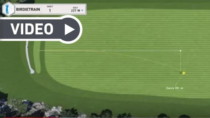 Lukas Eisinger von Birdietrain geben drei essenzielle Tipps für einen besseren Drive (Foto: YouTube / Golf Post)