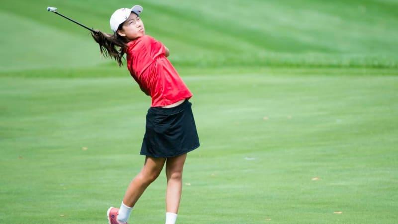Rekordverdächtig: Michelle Liu aus Kanada feiert mit ihren erst 12 Jahren ihr LPGA-Debut. (Foto: The Star)