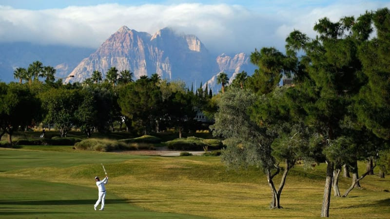 In diesem tollen und beeindruckenden Ambiente werden die PGA-Tour-Profis in dieser Woche abschlagen. (Foto: Getty)