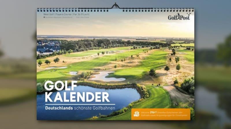 Der Golfkalender 2020.
