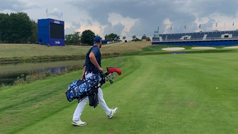 Auf den Spuren der Stars - Golfen einen Tag nach dem großen Turnier. (Foto: Tomislav Gaspar)