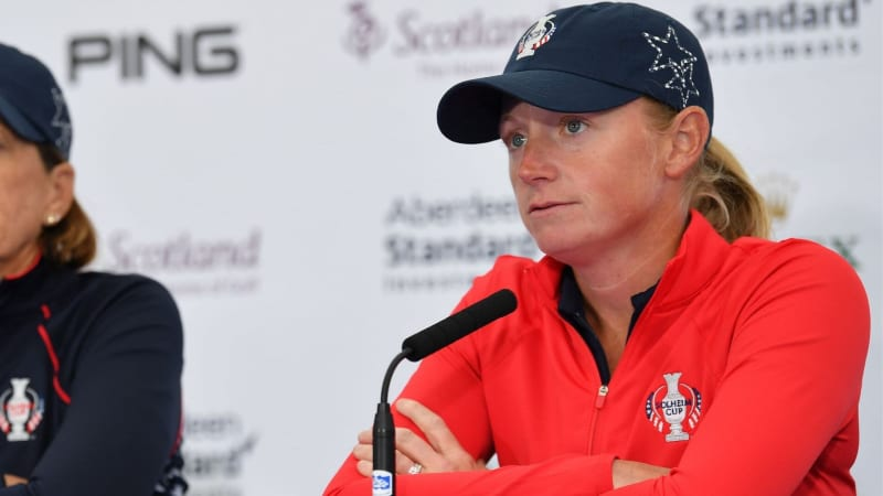 Stacy Lewis muss den Solheim Cup 2019 in Gleneagles absagen. (Foto: Getty)