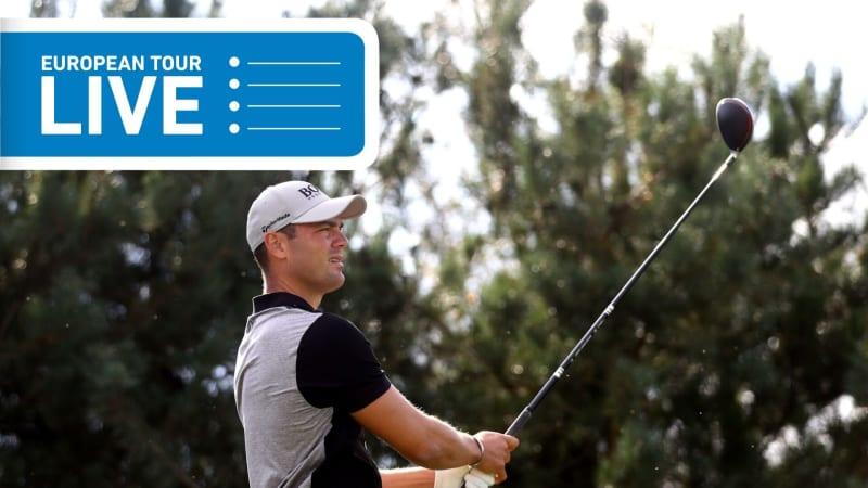 Martin Kaymer teet zur BMW PGA Championship der European Tour zur ersten Runde auf. (Foto: Getty)