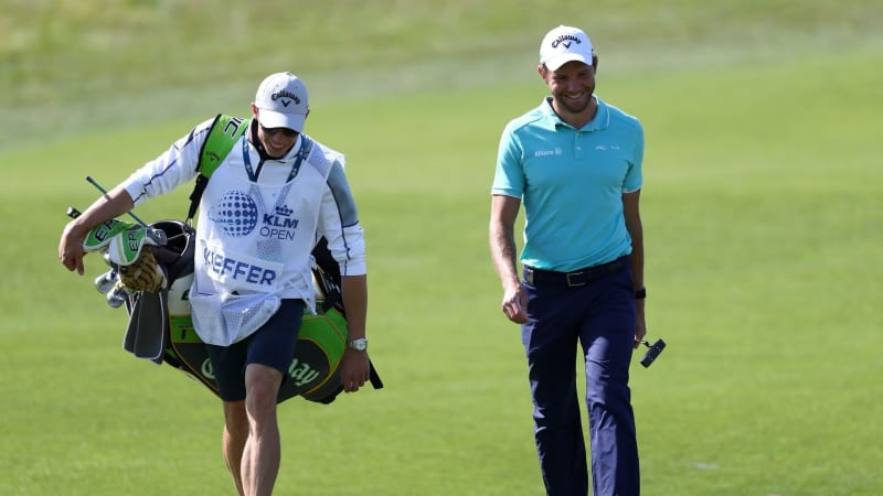 Max Kieffer spielt am Moving Day der KLM Open der European Tour über Par. (Foto: Getty)