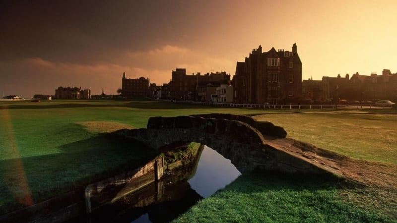 Geschichte, Prestige und Ehrfurcht: Der Old Course in St. Andrews. (Foto: Getty)