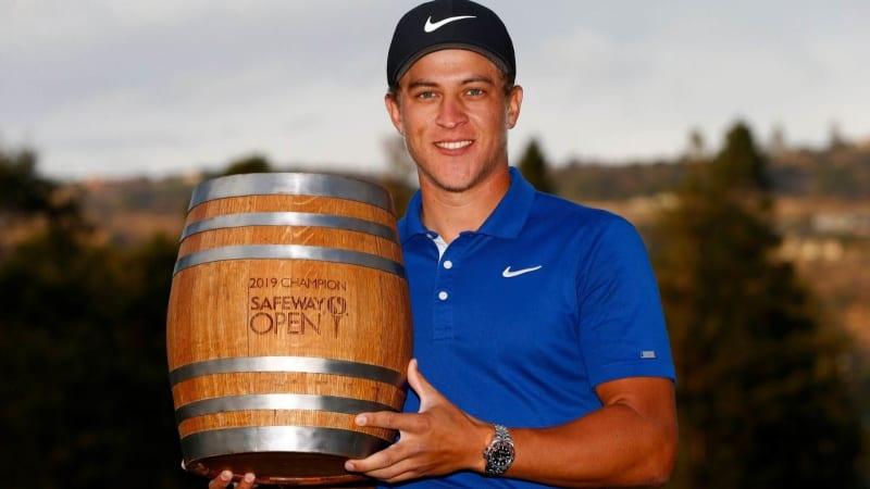 Gewinnt mit der Safeway Open sein zweites Turnier auf der PGA Tour: Cameron Champ. (Foto: Getty)