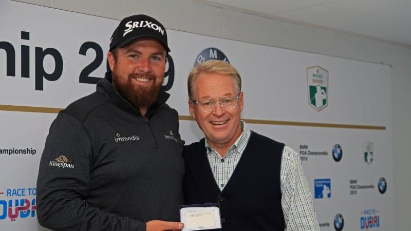 Der Major-Sieger Shane Lowry erhält eine lebenslängliche Ehrenmitgliedschaft auf der European Tour. (Foto: Getty)