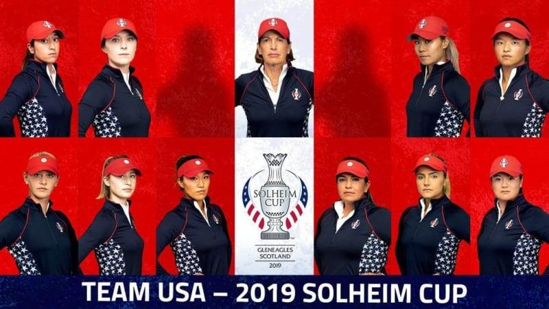 Das Team USA für den Solheim Cup 2019.