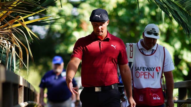 Bryson DeChambeau kommt in der Umfrage unter Profis der PGA Tour nicht besonders gut weg. (Foto: Getty)