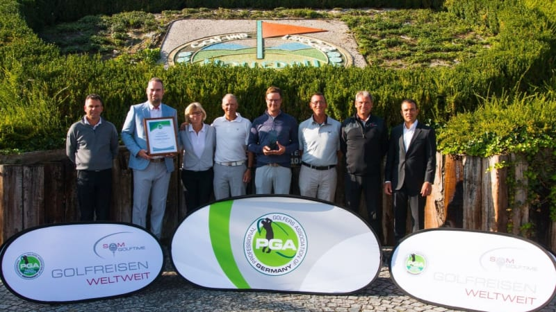 PGA-Wettspiel-Serie für Golflehrer: Die SAM Golftime PGA Club Pro Series. (Foto: PGA of Germany)