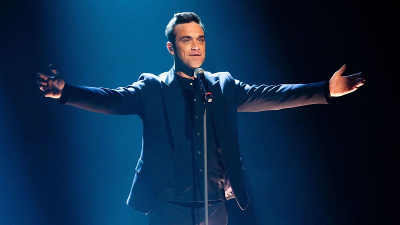 Popstar Robbie Williams wäre beinahe Golfpro geworden. (Foto: Getty)