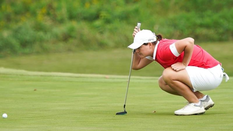 Mit zwei Unter-Par-Runden hält sich Caroline Masson nahe der Spitzengruppe. (Foto: Getty)
