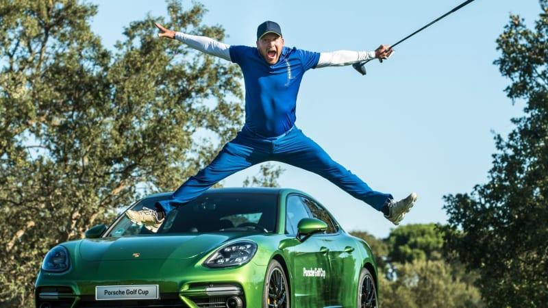 Porsche Golf Cup 2019, Deutschland-Finale: Sebastian Amann, Sieger Netto A, Mitglied Team Germany im World Final. (Foto: presse.porsche)