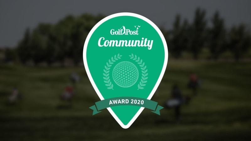 Golf Post Community Award 2020