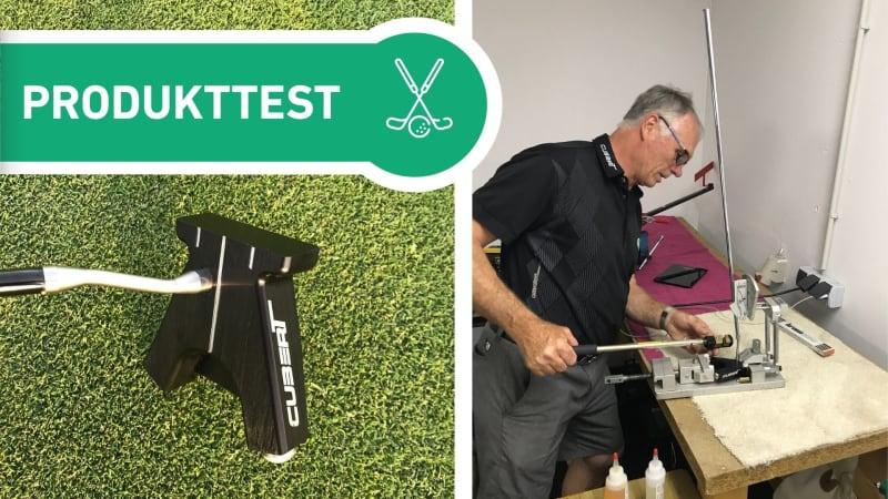Cubert Putter - nicht vom Band sondern im Fitting. (Foto: Golf Post)