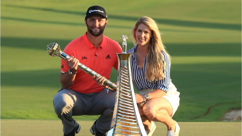 Jon Rahm gewinnt Die DP World Tour Championship und das Race to Dubai der European Tour 2019. (Foto: Getty)