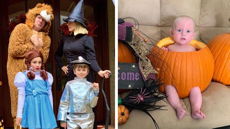 Die besten Halloween-Kostüme der Golfstars.