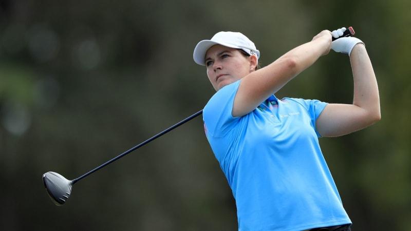 Caroline Masson stark beim Saisonfinale der LPGA Tour. (Foto: Getty)