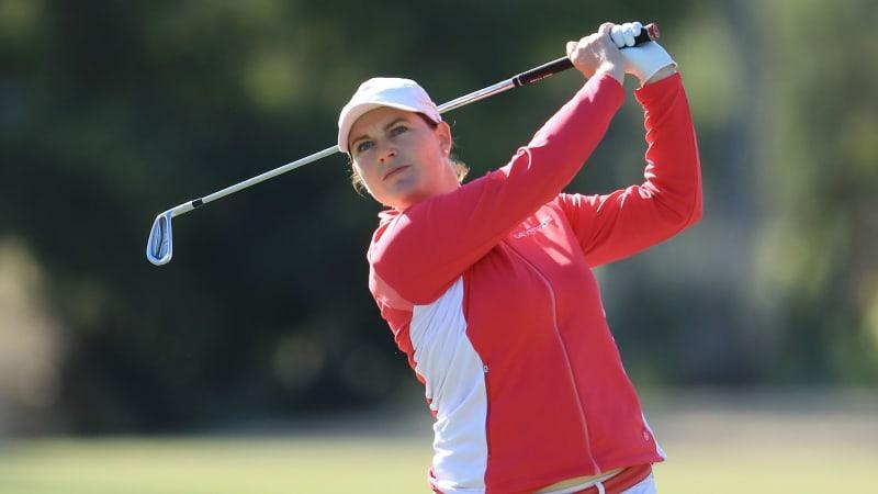 Caroline Masson beginnt das Saisonfinale der LPGA Tour stark. (Foto: Getty)