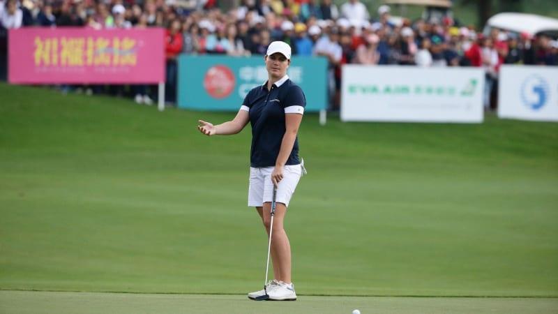 Caroline Masson verfehlt den Sieg im Stechen auf der LPGA Tour im Playoff. (Foto: Getty)
