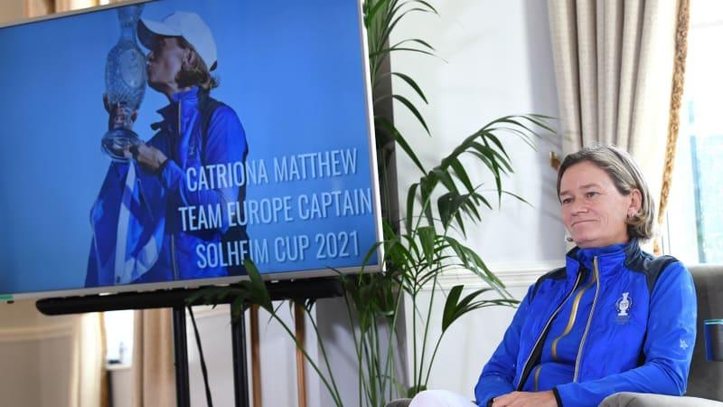 Catriona Matthew ist die neue alte Solheim Cup Kapitänin. (Bildquelle: Getty)
