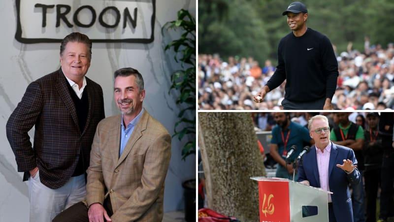 Dana Garmany und Tim Schantz führen das Ranking der einflussreichsten Personen im Golf an. Tiger Woods und Keith Pelley sind ebenfalls vertreten. (Foto: Twitter/@AZGOLFassoc und Getty)