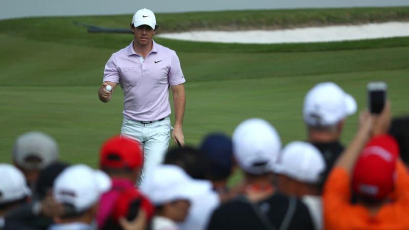 Rory McIlroy in alleiniger Führung beim World Golf Championship. (Bildquelle: Getty)