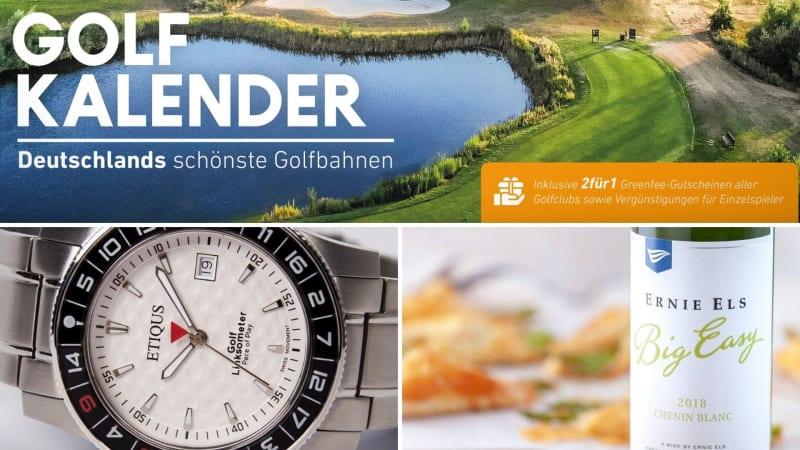 Die besten Geschenke für Golfer im Überblick. (Foto: Golf Post, Instagram/@Etiqus; @ernieelswines)