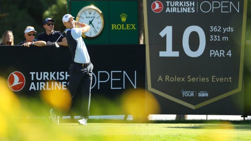 Martin Kaymer spielt die erste Runde der Turkish Airlines Open auf der European Tour. (Bildquelle: Getty)